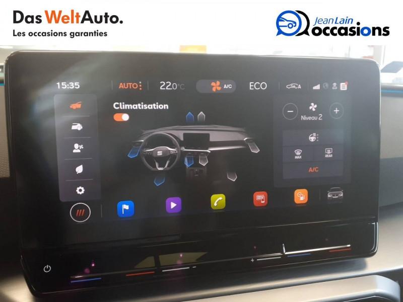 Seat Leon Leon e-Hybrid 204 ch DSG6 FR 5p Gris occasion à Voiron - photo n°14