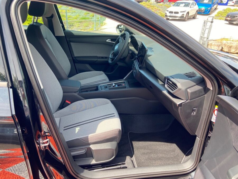 Seat Leon New 2.0 TDI 150 DSG STYLE GPS FULL LED Noir occasion à Montauban - photo n°9