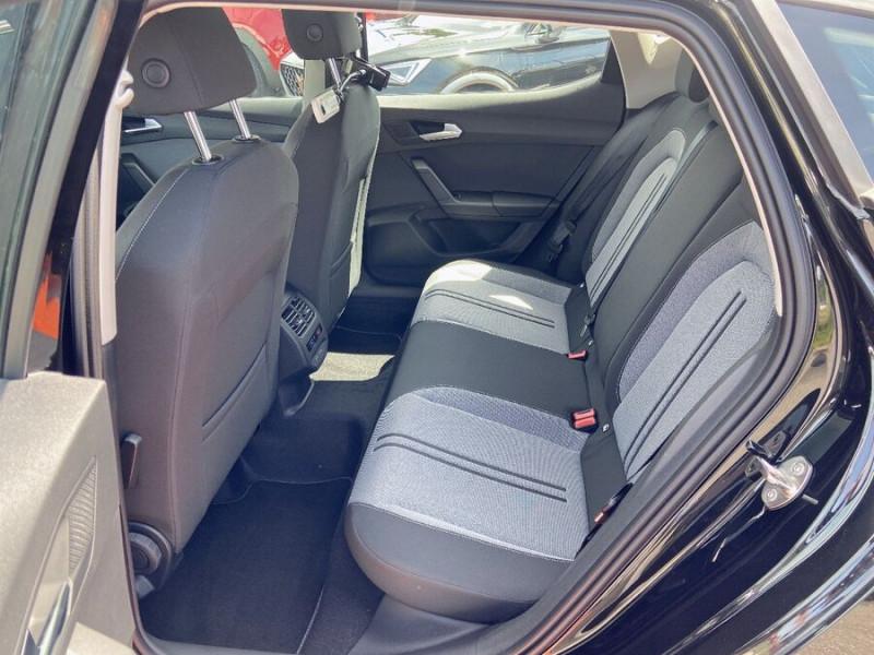 Seat Leon New 2.0 TDI 150 DSG STYLE GPS FULL LED Noir occasion à Montauban - photo n°4