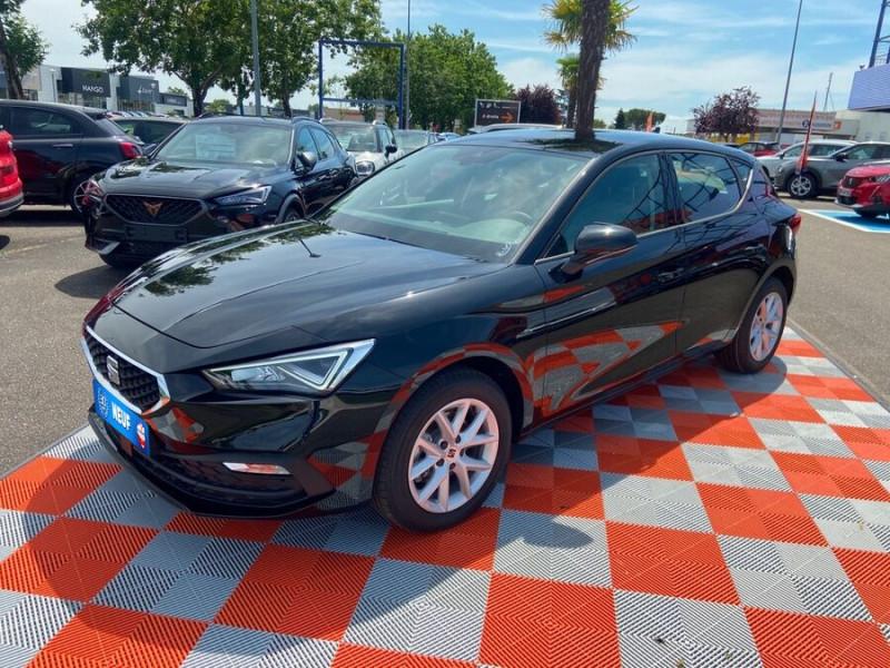Seat Leon New 2.0 TDI 150 DSG STYLE GPS FULL LED Noir occasion à Montauban