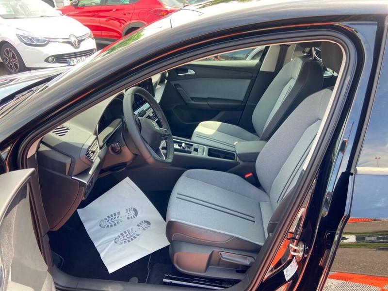 Seat Leon New 2.0 TDI 150 DSG STYLE GPS FULL LED Noir occasion à Montauban - photo n°3