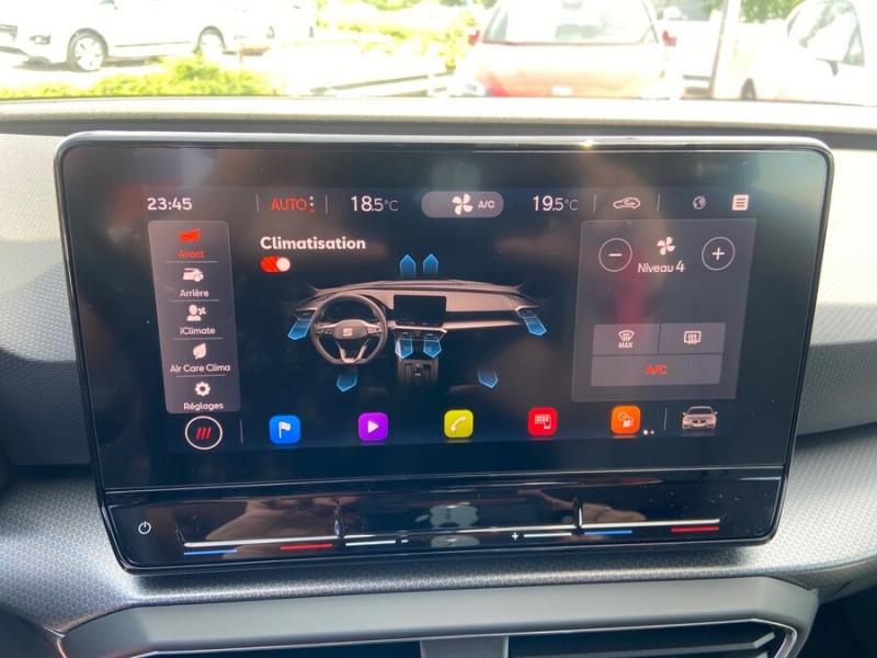 Seat Leon New 2.0 TDI 150 DSG STYLE GPS FULL LED Noir occasion à Montauban - photo n°11