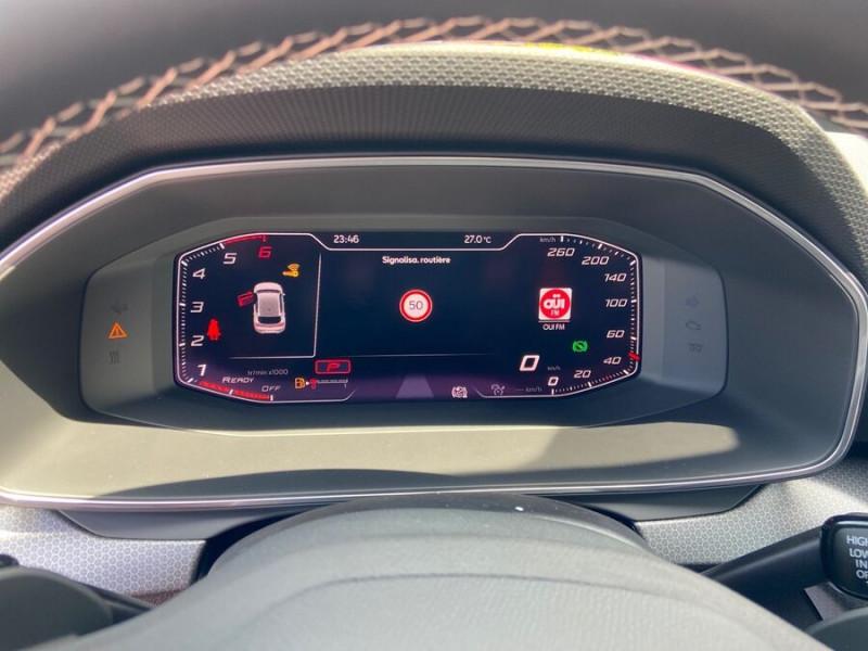 Seat Leon New 2.0 TDI 150 DSG STYLE GPS FULL LED Noir occasion à Montauban - photo n°18