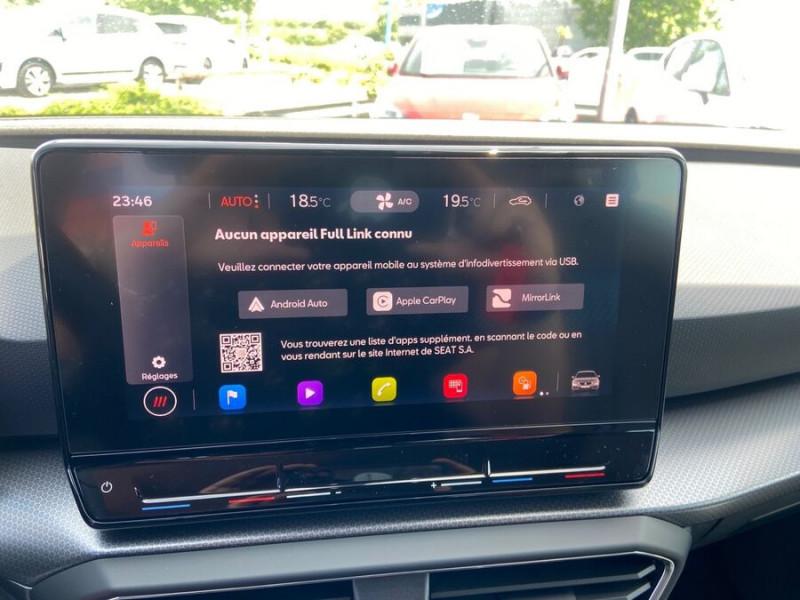 Seat Leon New 2.0 TDI 150 DSG STYLE GPS FULL LED Noir occasion à Montauban - photo n°16
