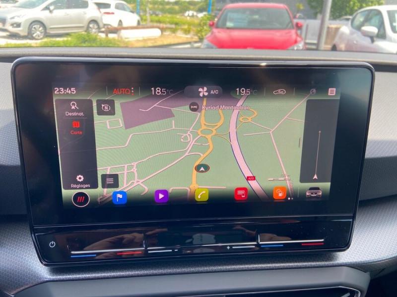 Seat Leon New 2.0 TDI 150 DSG STYLE GPS FULL LED Noir occasion à Montauban - photo n°12