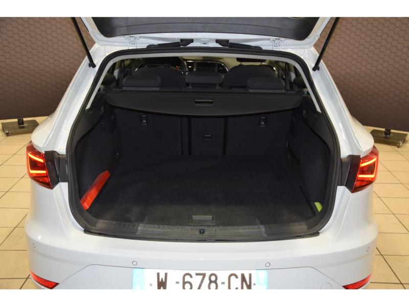 Seat Leon Sportstourer 2.0 16V TDI - 150 - BV DSG 7  SPORTSTOURER 2020 Blanc occasion à Riorges - photo n°8