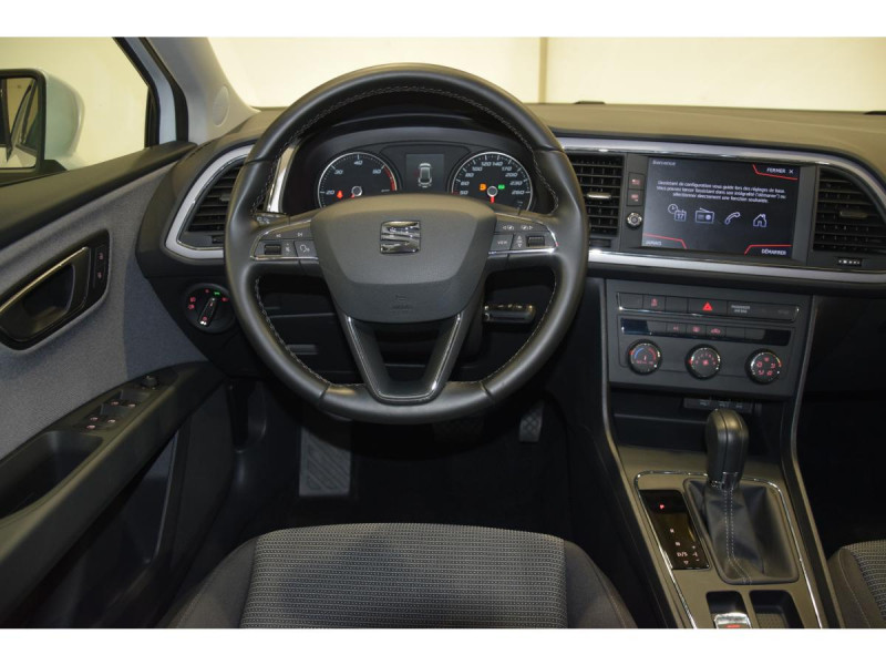 Seat Leon Sportstourer 2.0 16V TDI - 150 - BV DSG 7  SPORTSTOURER 2020 Blanc occasion à Riorges - photo n°12