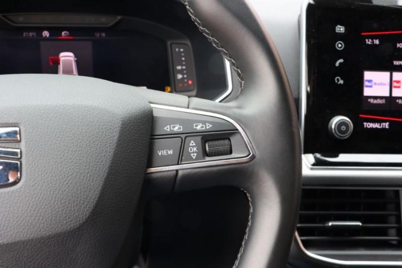 Seat Tarraco 2.0 TDI 150 BV6 BUSINESS GPS FULL LEDS JA 18 Gris occasion à Castelculier - photo n°16
