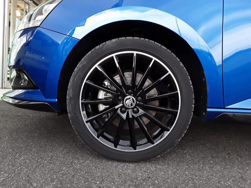 Skoda Fabia 1.0 TSI 110ch Monte Carlo Euro6dT Bleu occasion à LESCAR - photo n°5