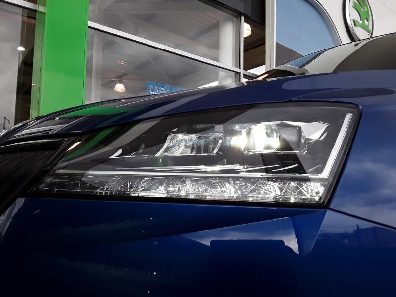 Skoda Fabia 1.0 TSI 110ch Monte Carlo Euro6dT Bleu occasion à LESCAR - photo n°11