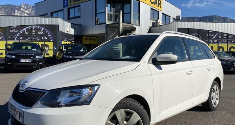 Skoda Fabia 1.4 TDI90 FAP AMBITION Blanc occasion à VOREPPE
