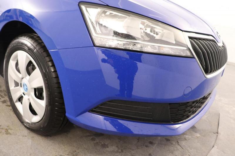 Skoda Fabia SKADA 1.0 MPI 60 CH BVM5 ACTIVE Bleu occasion à Aubière - photo n°14