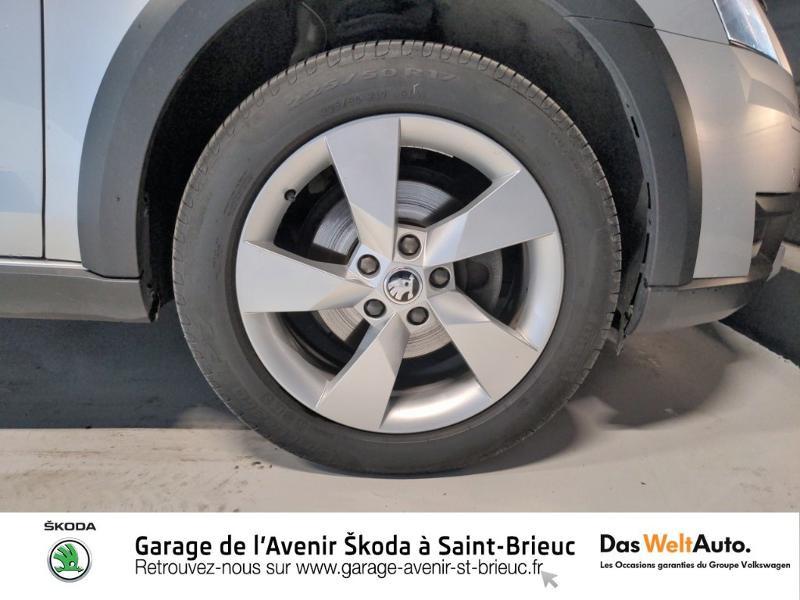 Skoda Octavia 2.0 TDI 150ch SCR Scout 4x4 DSG7 Euro6d-T Gris occasion à Saint Brieuc - photo n°19