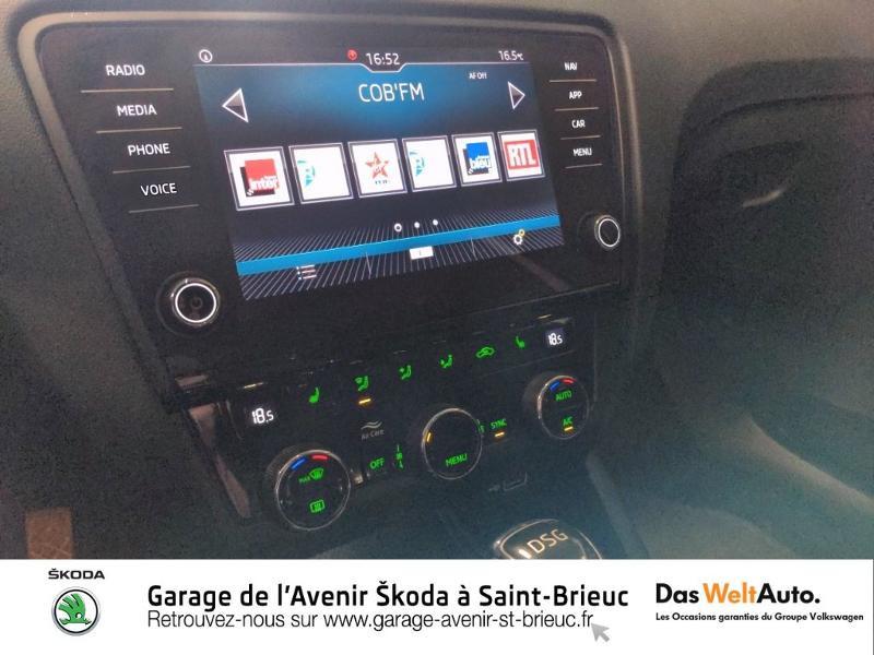 Skoda Octavia 2.0 TDI 150ch SCR Scout 4x4 DSG7 Euro6d-T Gris occasion à Saint Brieuc - photo n°9