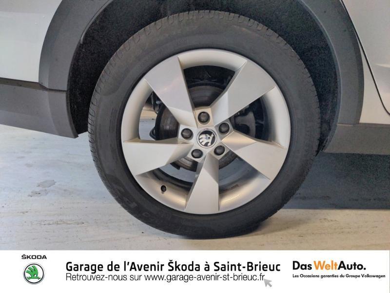 Skoda Octavia 2.0 TDI 150ch SCR Scout 4x4 DSG7 Euro6d-T Gris occasion à Saint Brieuc - photo n°20