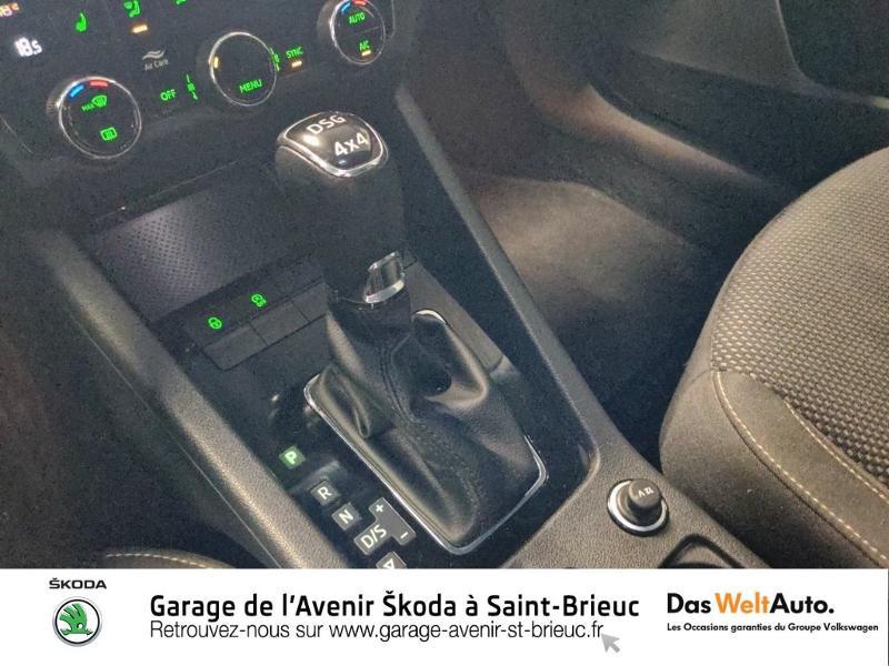 Skoda Octavia 2.0 TDI 150ch SCR Scout 4x4 DSG7 Euro6d-T Gris occasion à Saint Brieuc - photo n°13
