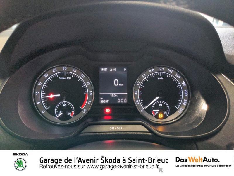 Skoda Octavia 2.0 TDI 150ch SCR Scout 4x4 DSG7 Euro6d-T Gris occasion à Saint Brieuc - photo n°10