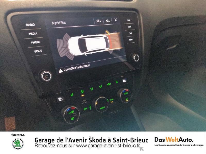 Skoda Octavia 2.0 TDI 150ch SCR Scout 4x4 DSG7 Euro6d-T Gris occasion à Saint Brieuc - photo n°12