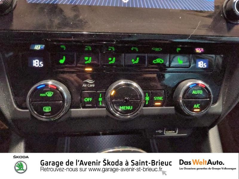 Skoda Octavia 2.0 TDI 150ch SCR Scout 4x4 DSG7 Euro6d-T Gris occasion à Saint Brieuc - photo n°11