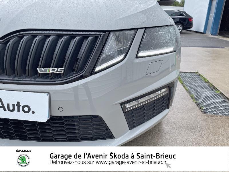 Skoda Octavia 2.0 TDI 184ch SCR RS DSG7 Euro6d-T Gris occasion à Saint Brieuc - photo n°17