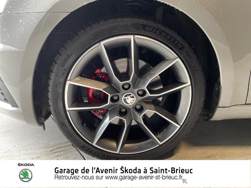 Skoda Octavia 2.0 TDI 184ch SCR RS DSG7 Euro6d-T Gris occasion à Saint Brieuc - photo n°13