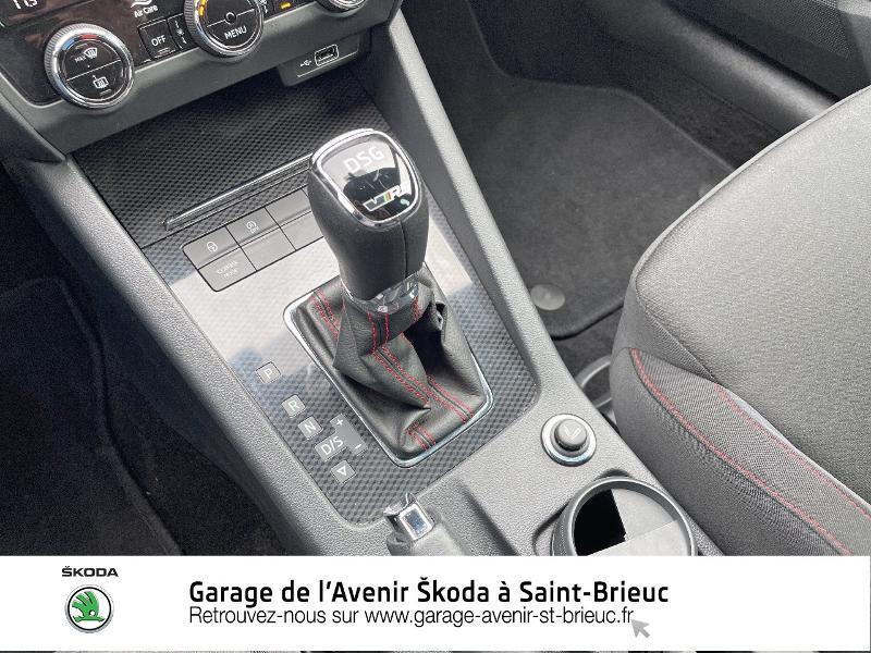 Skoda Octavia 2.0 TDI 184ch SCR RS DSG7 Euro6d-T Gris occasion à Saint Brieuc - photo n°10