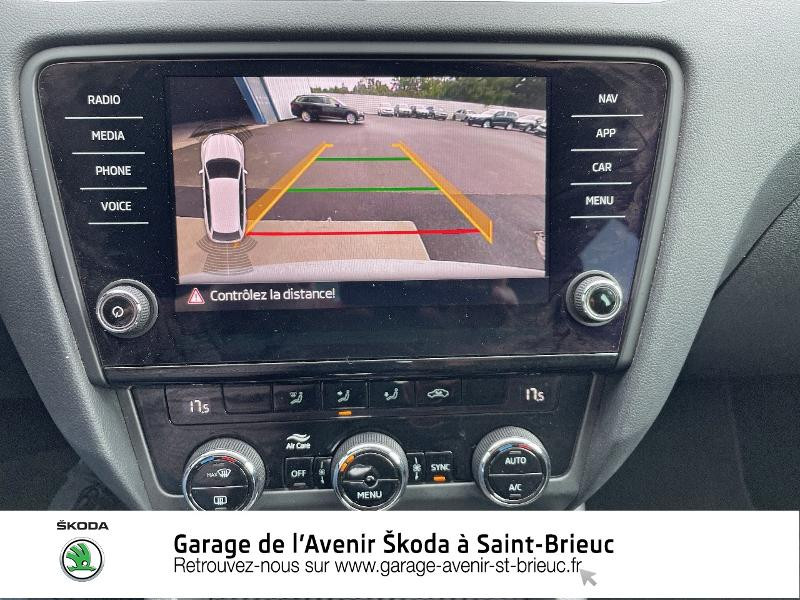 Skoda Octavia 2.0 TDI 184ch SCR RS DSG7 Euro6d-T Gris occasion à Saint Brieuc - photo n°9