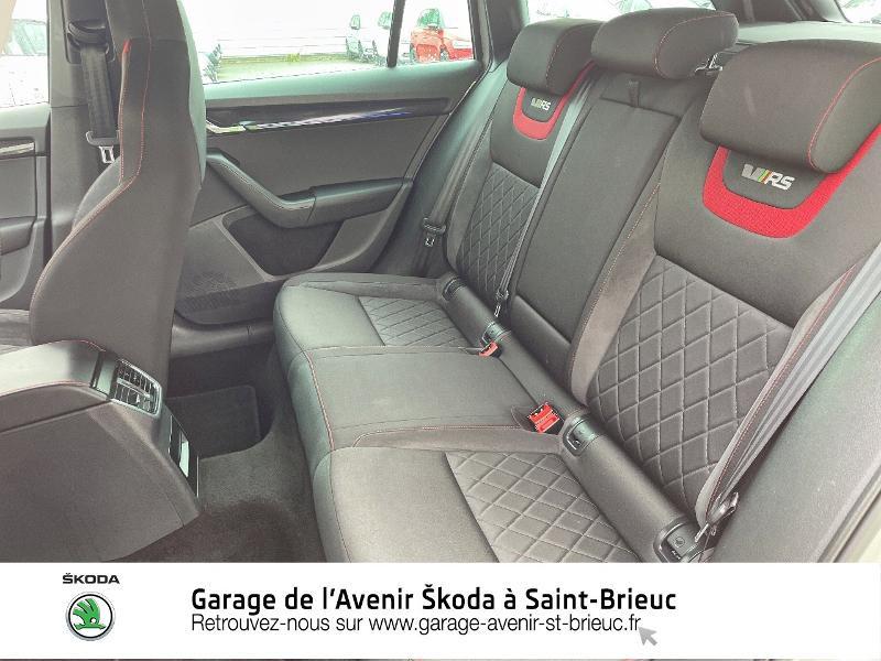 Skoda Octavia 2.0 TDI 184ch SCR RS DSG7 Euro6d-T Gris occasion à Saint Brieuc - photo n°11