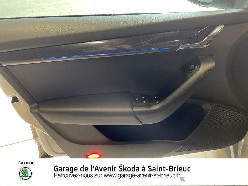 Skoda Octavia 2.0 TDI 184ch SCR RS DSG7 Euro6d-T Gris occasion à Saint Brieuc - photo n°14