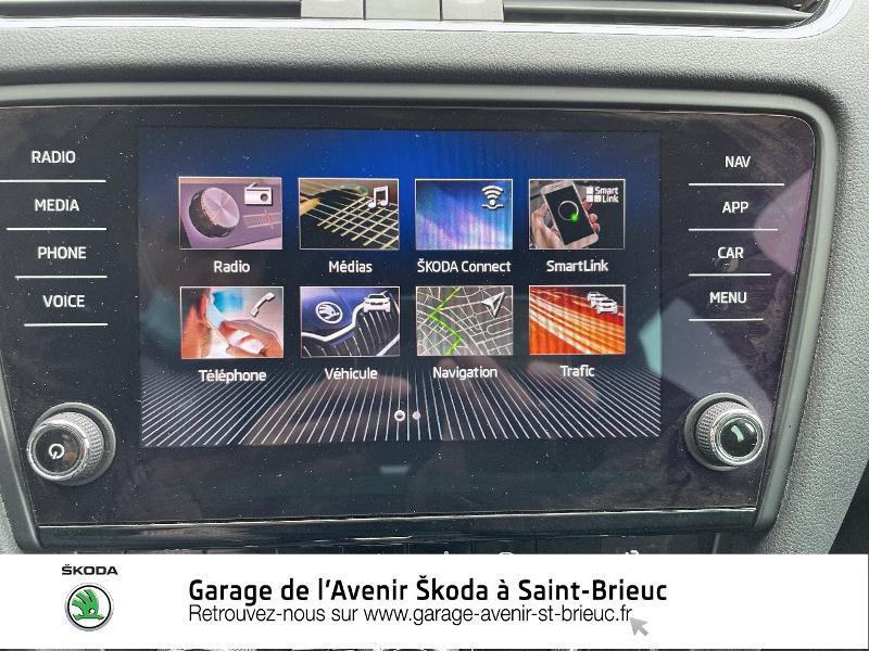 Skoda Octavia 2.0 TDI 184ch SCR RS DSG7 Euro6d-T Gris occasion à Saint Brieuc - photo n°18