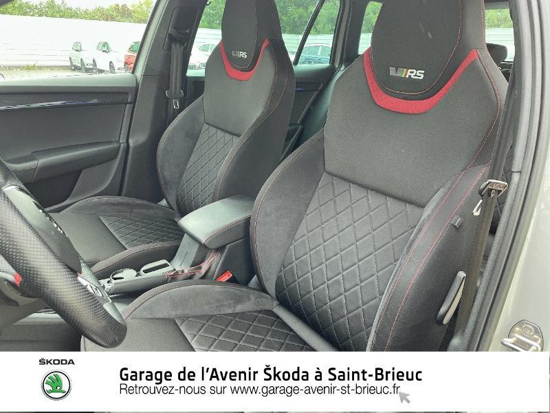 Skoda Octavia 2.0 TDI 184ch SCR RS DSG7 Euro6d-T Gris occasion à Saint Brieuc - photo n°16