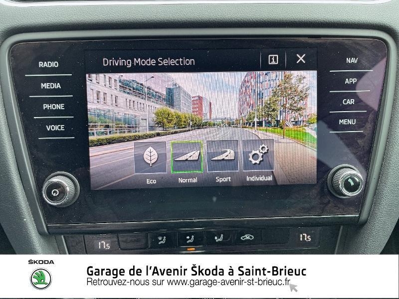 Skoda Octavia 2.0 TDI 184ch SCR RS DSG7 Euro6d-T Gris occasion à Saint Brieuc - photo n°15