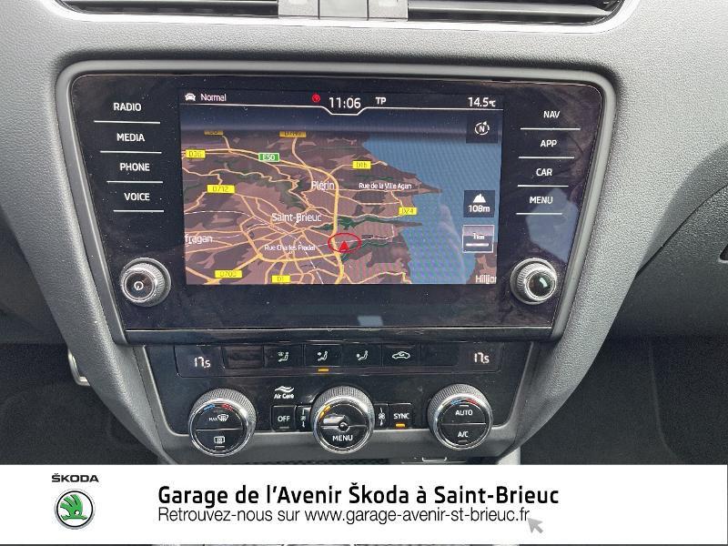 Skoda Octavia 2.0 TDI 184ch SCR RS DSG7 Euro6d-T Gris occasion à Saint Brieuc - photo n°8