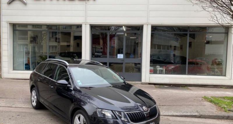 Skoda Octavia break TDI 116 Dsg7 full options 1ère main 07/2017 Noir occasion à SAINT-ETIENNE