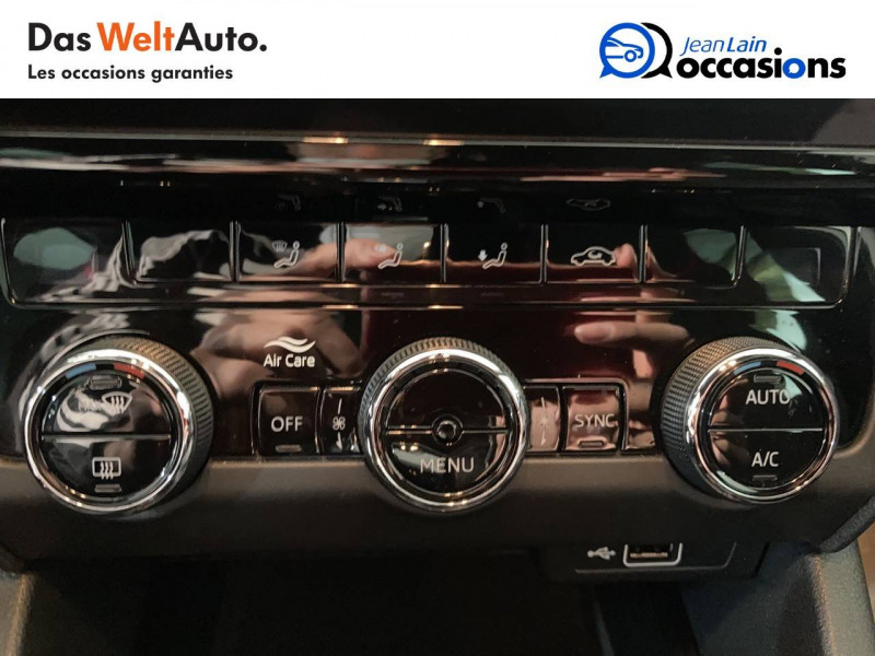 Skoda Octavia Octavia Combi 2.0 TDI 184 ch SCR FAP DSG7 RS 5p Blanc occasion à Voiron - photo n°14