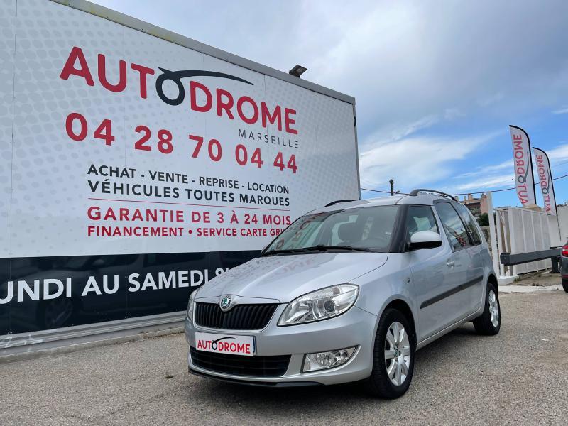 Skoda Roomster occasion 2012 mise en vente à Marseille 10 par le garage AUTODROME - photo n°1