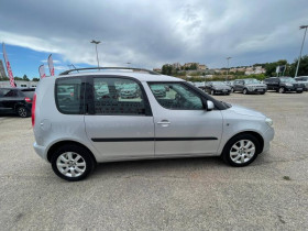 Skoda Roomster 1.6 TDI90 FAP Ambition - 103 000 Kms Gris occasion à Marseille 10 - photo n°5