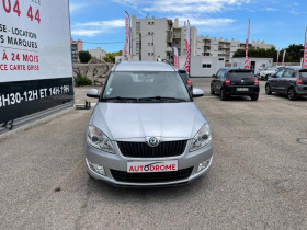 Skoda Roomster 1.6 TDI90 FAP Ambition - 103 000 Kms Gris occasion à Marseille 10 - photo n°2