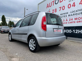 Skoda Roomster 1.6 TDI90 FAP Ambition - 103 000 Kms Gris occasion à Marseille 10 - photo n°8