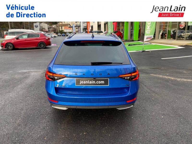 Skoda Superb Superb Combi 1.4 TSI PHEV 218 ch DSG6 Sportline 5p Bleu occasion à Voiron - photo n°6