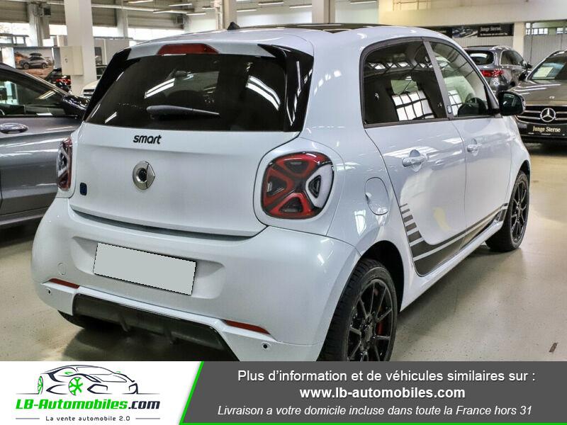 Smart Forfour 82 ch Electrique BVA1 Blanc occasion à Beaupuy - photo n°3
