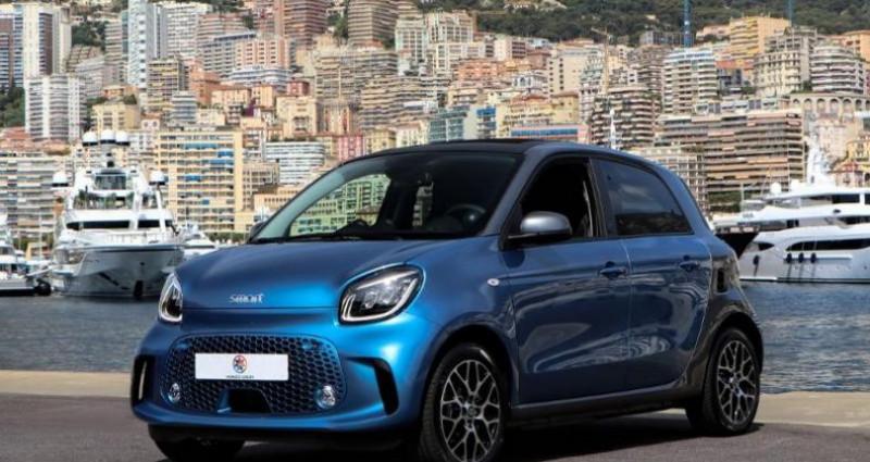 Smart Forfour Electrique 82ch Prime Bleu occasion à MONACO