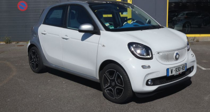 Smart Forfour II 71ch proxy Blanc occasion à LANESTER - photo n°2