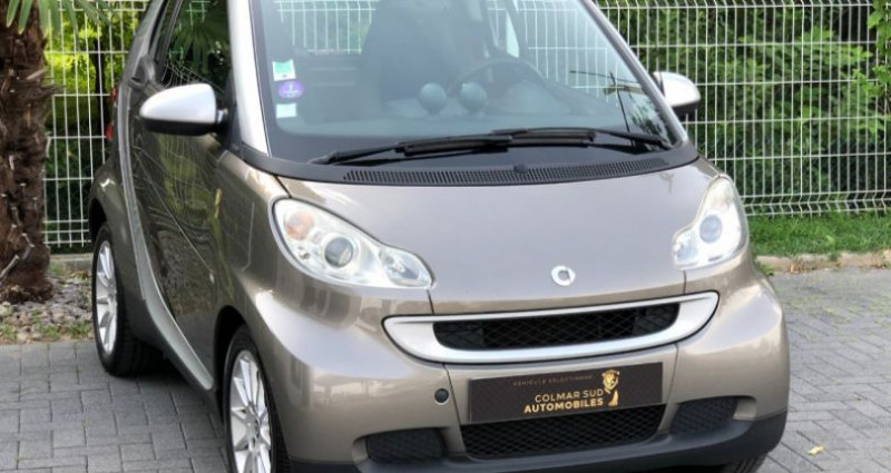 Smart Fortwo 71CH MHD PASSION SOFTOUCH Gris occasion à COLMAR