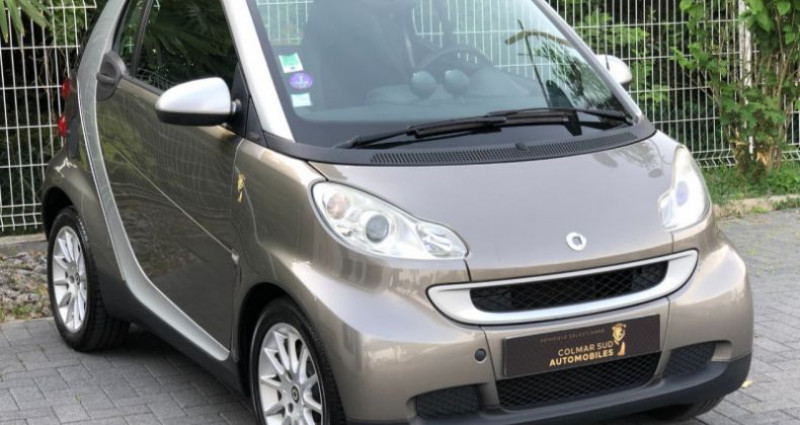Smart Fortwo 71CH MHD PASSION SOFTOUCH Gris occasion à COLMAR - photo n°5