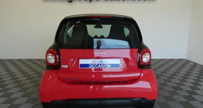 Smart Fortwo Coupe Electrique 82ch passion Rouge occasion à TOURLAVILLE - photo n°5