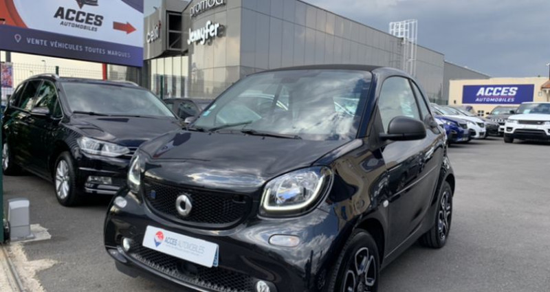 Smart Fortwo Coupe III Electrique 82ch passion Noir occasion à HERBLAY - photo n°2