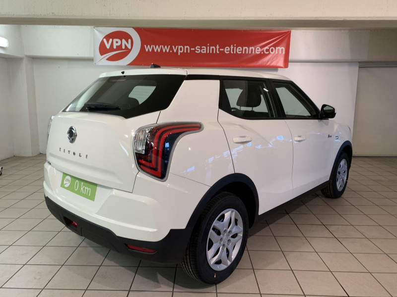 Ssang yong Tivoli 120 T-GDI 2WD  . PHASE 3 Blanc occasion à Saint-Étienne - photo n°4