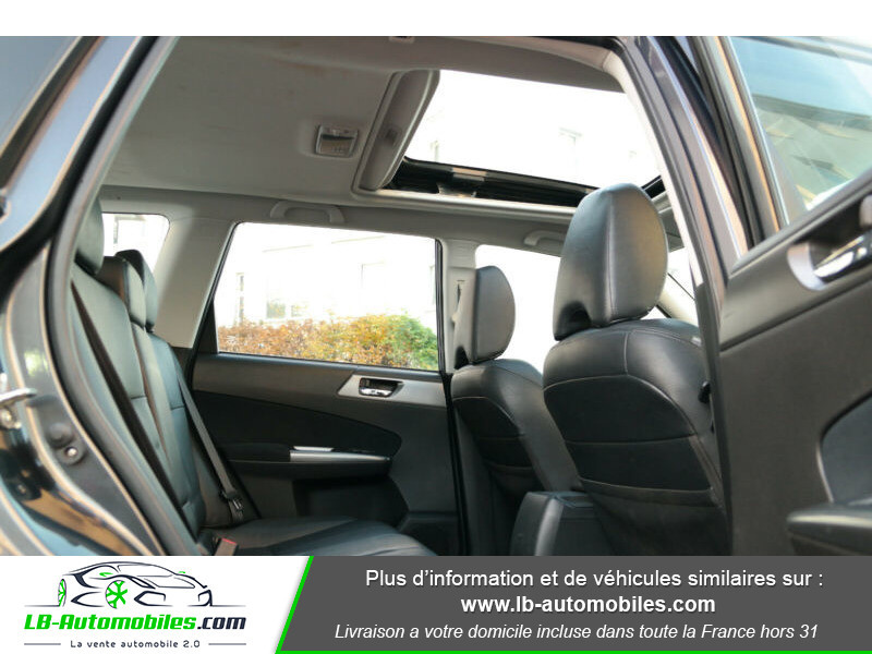 Subaru Forester 2.0 150 ch Noir occasion à Beaupuy - photo n°5