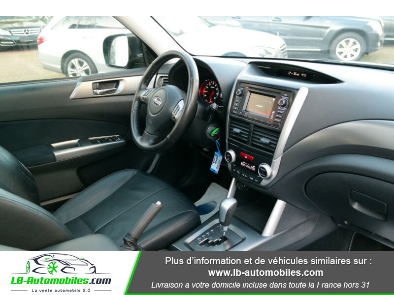Subaru Forester 2.0 150 ch Noir occasion à Beaupuy - photo n°2
